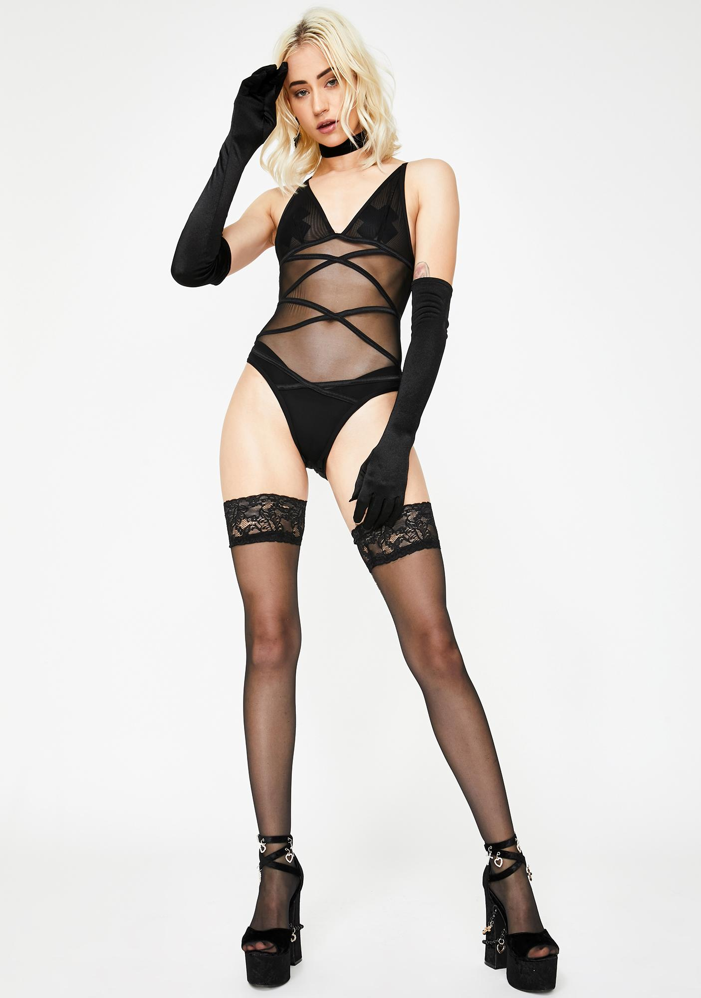 Your Own VIP Sheer Teddy