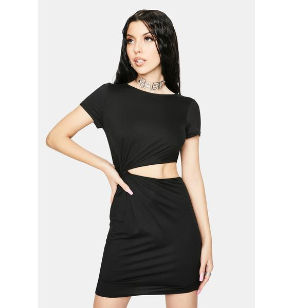 Give It Your All Cutout Mini Dress