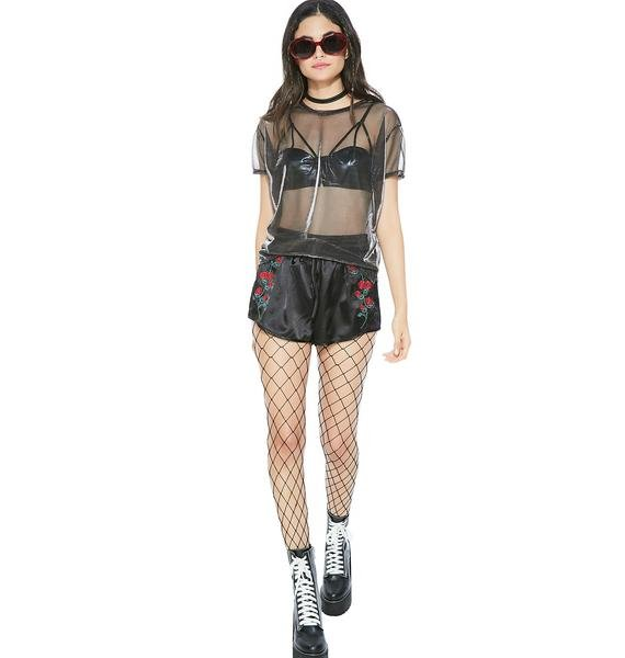 Dirty Look Sheer Tee