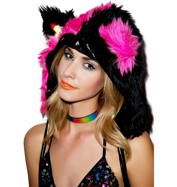 J Valentine Gettin' Freaky Faux Fur Hood