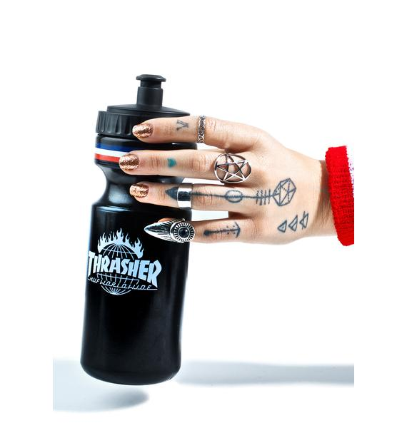 HUF X Thrasher Tour De Stoops Water Bottle