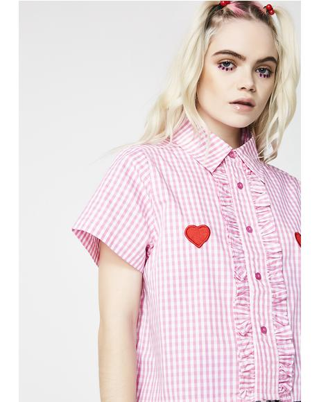 I Heart Gingham Shirt