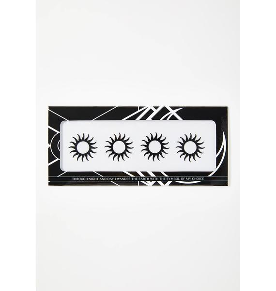 Magic Markings Sun Face Stickers