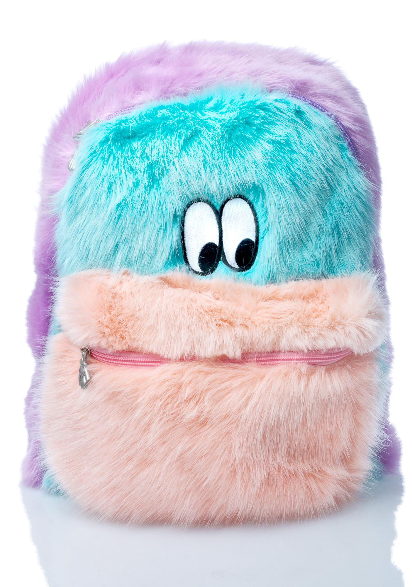 Lazy Oaf Fur Face Backpack