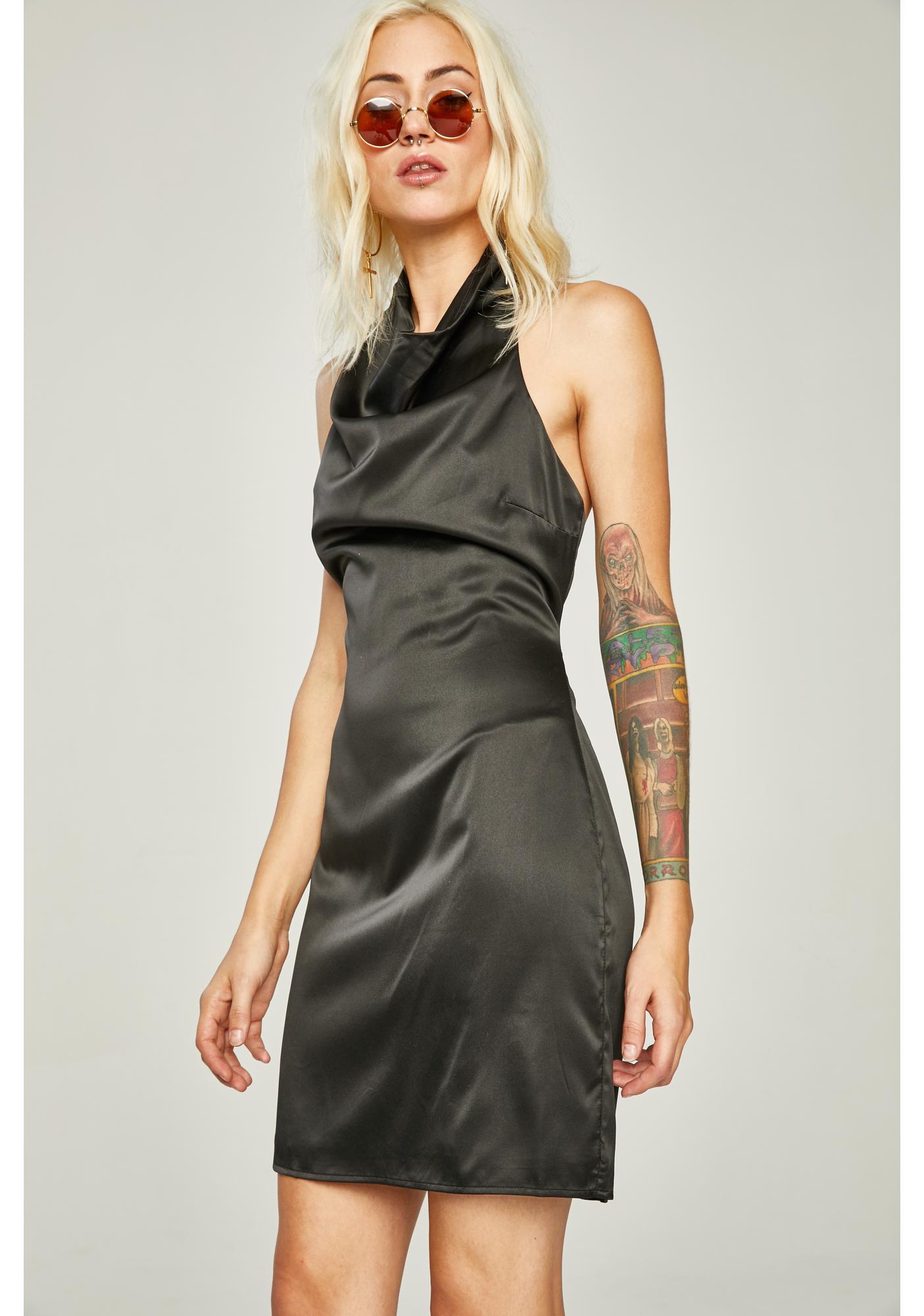 Oh So Fancy Halter Dress