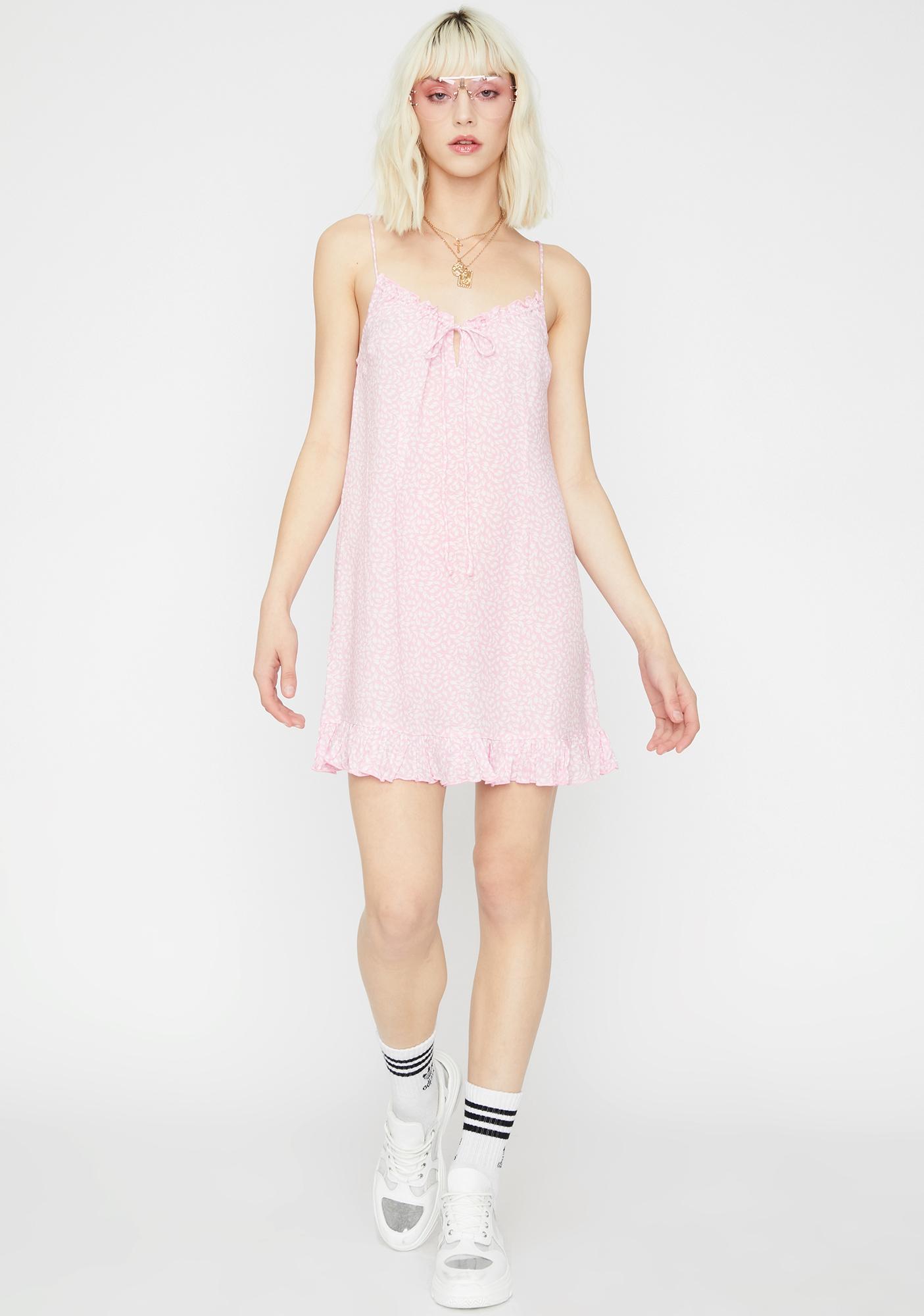 d874e6879 ... Bubblegum Enchanted Garden Babydoll Dress ...