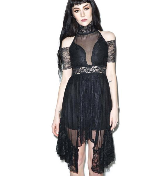 Widow For I Have Sinned Lace Dress