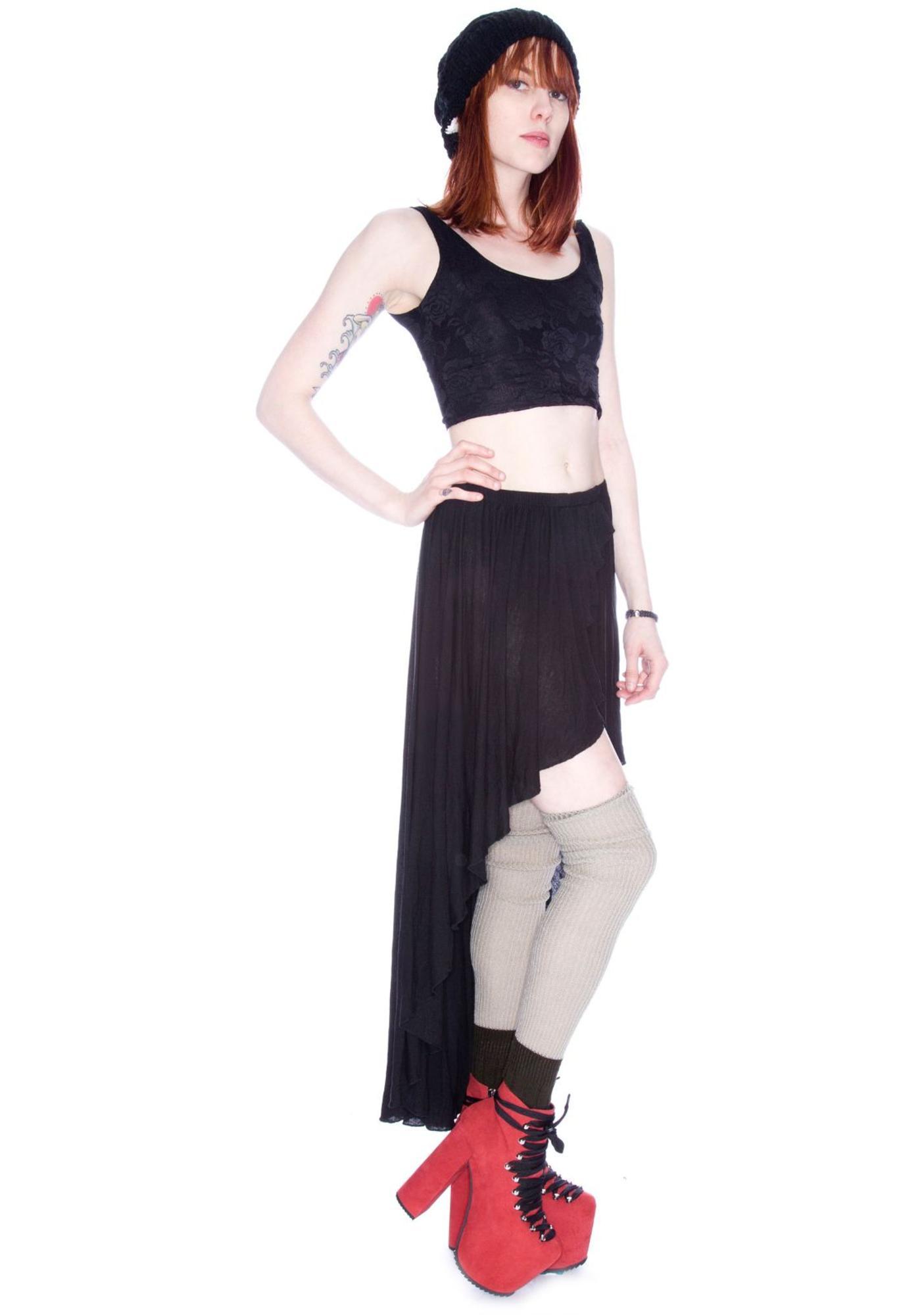 Cameron High Low Skirt