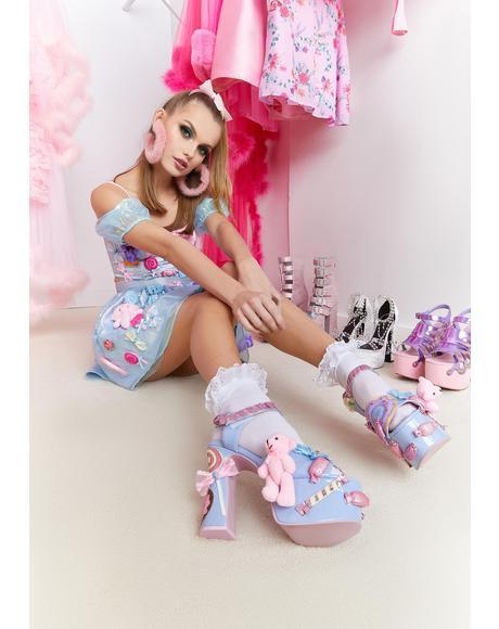 Sweet Masterpiece Platform Heels