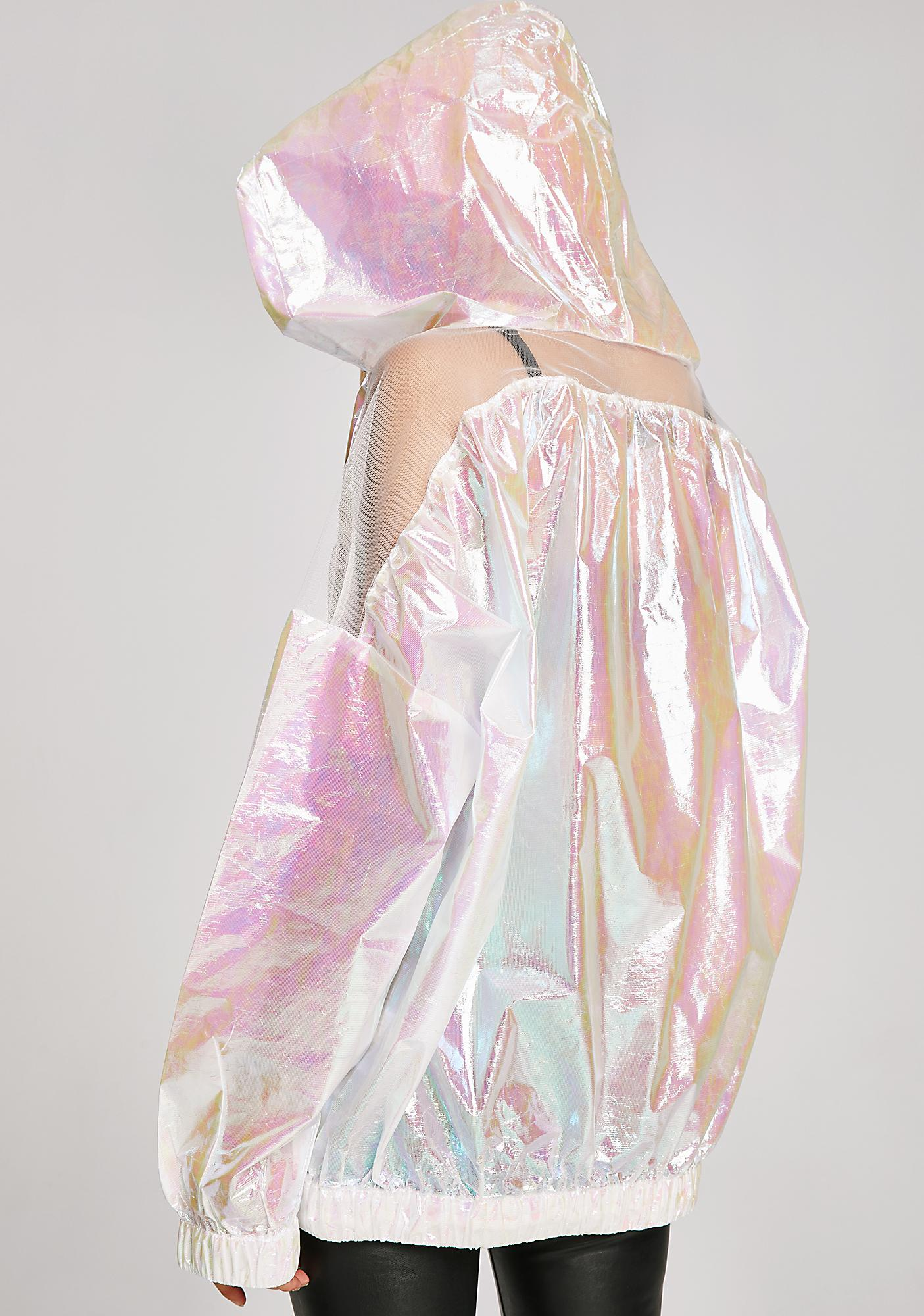 Spacin' Out Holographic Hoodie