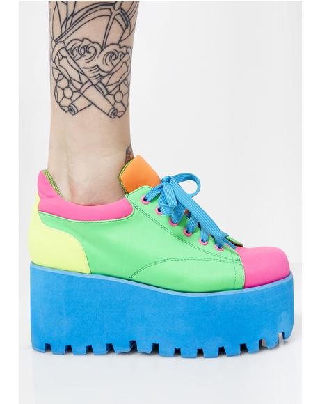 Kandi Rush Platform Sneakers