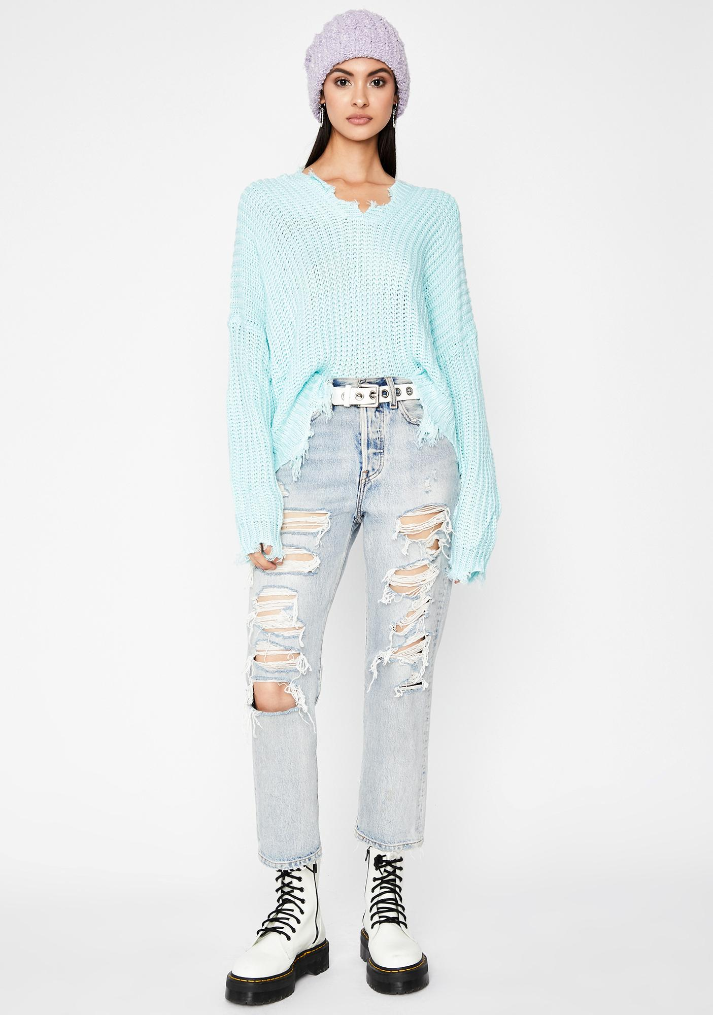 Never Expected Pullover Sweater