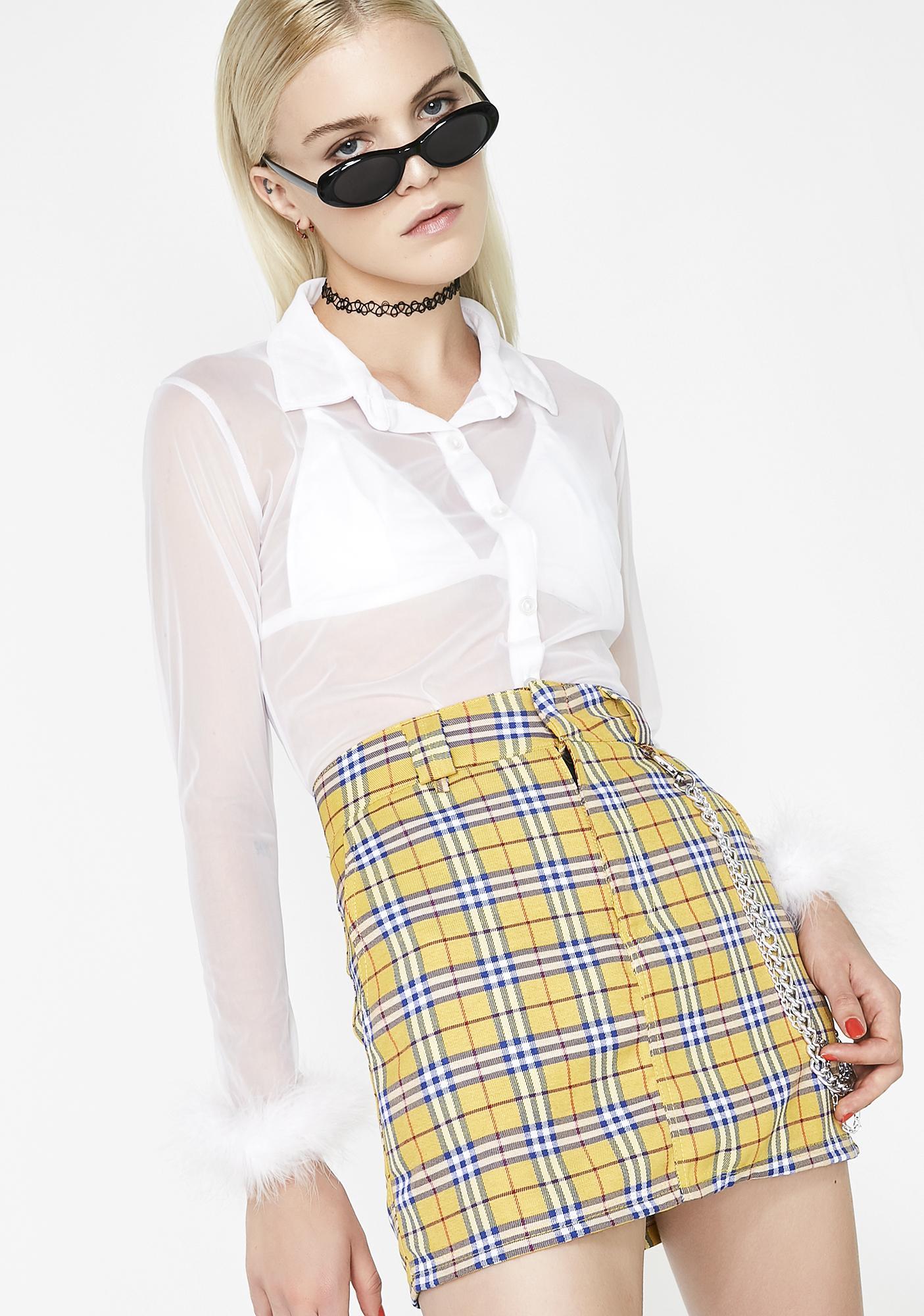 O Mighty Clueless Chain Skirt