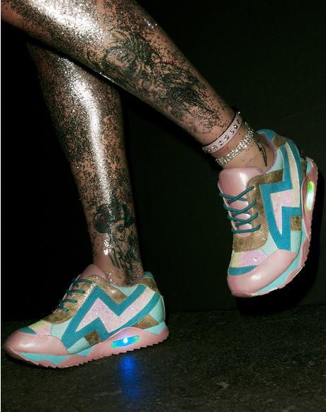 Big Bolt Sneakers