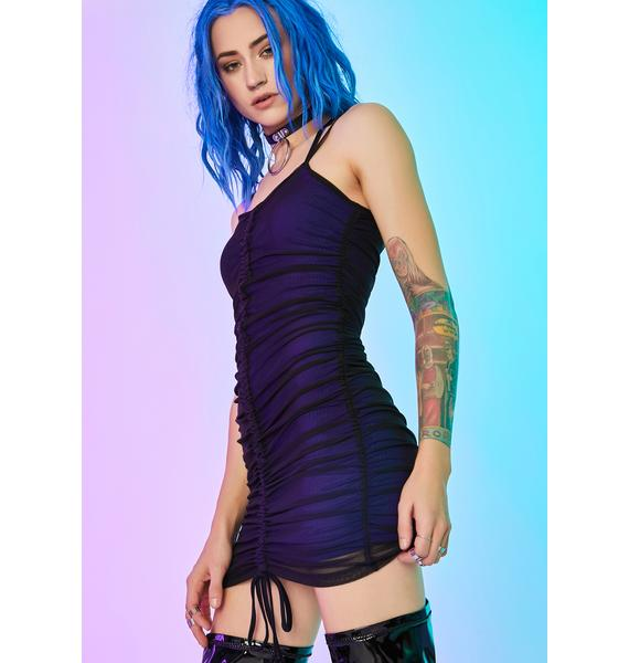 Current Mood Analog Insight Ruched Dress