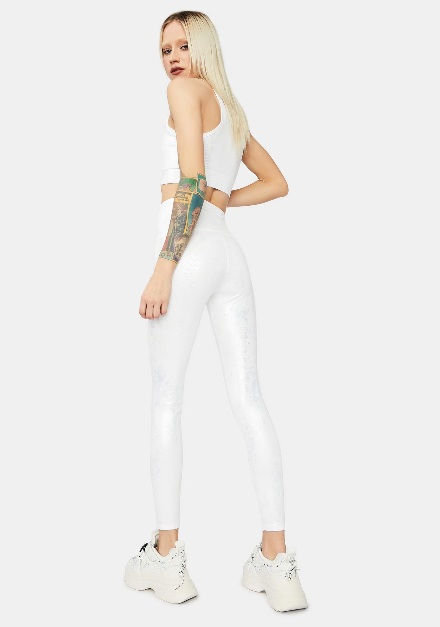 Pure Body Ody Ody Iridescent Sport Leggings