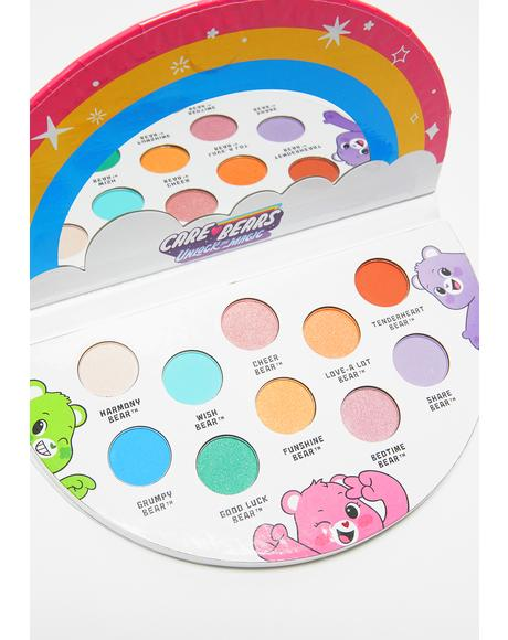 Care Bears Unlock The Magic Eyeshadow Palette