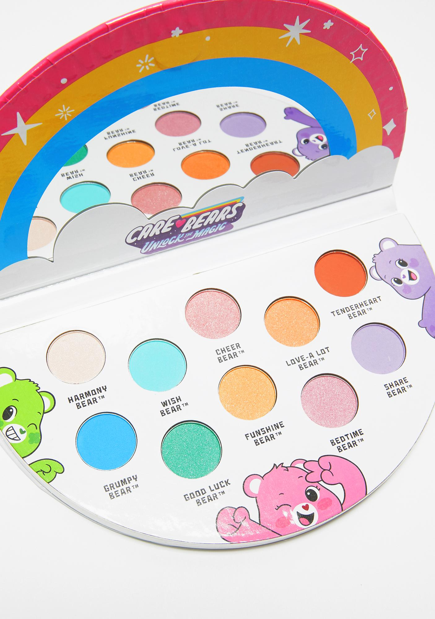 Taste Beauty Care Bears Unlock The Magic Eyeshadow Palette