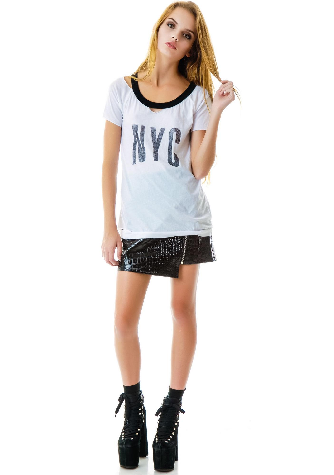Chaser NYC Ringer Tee