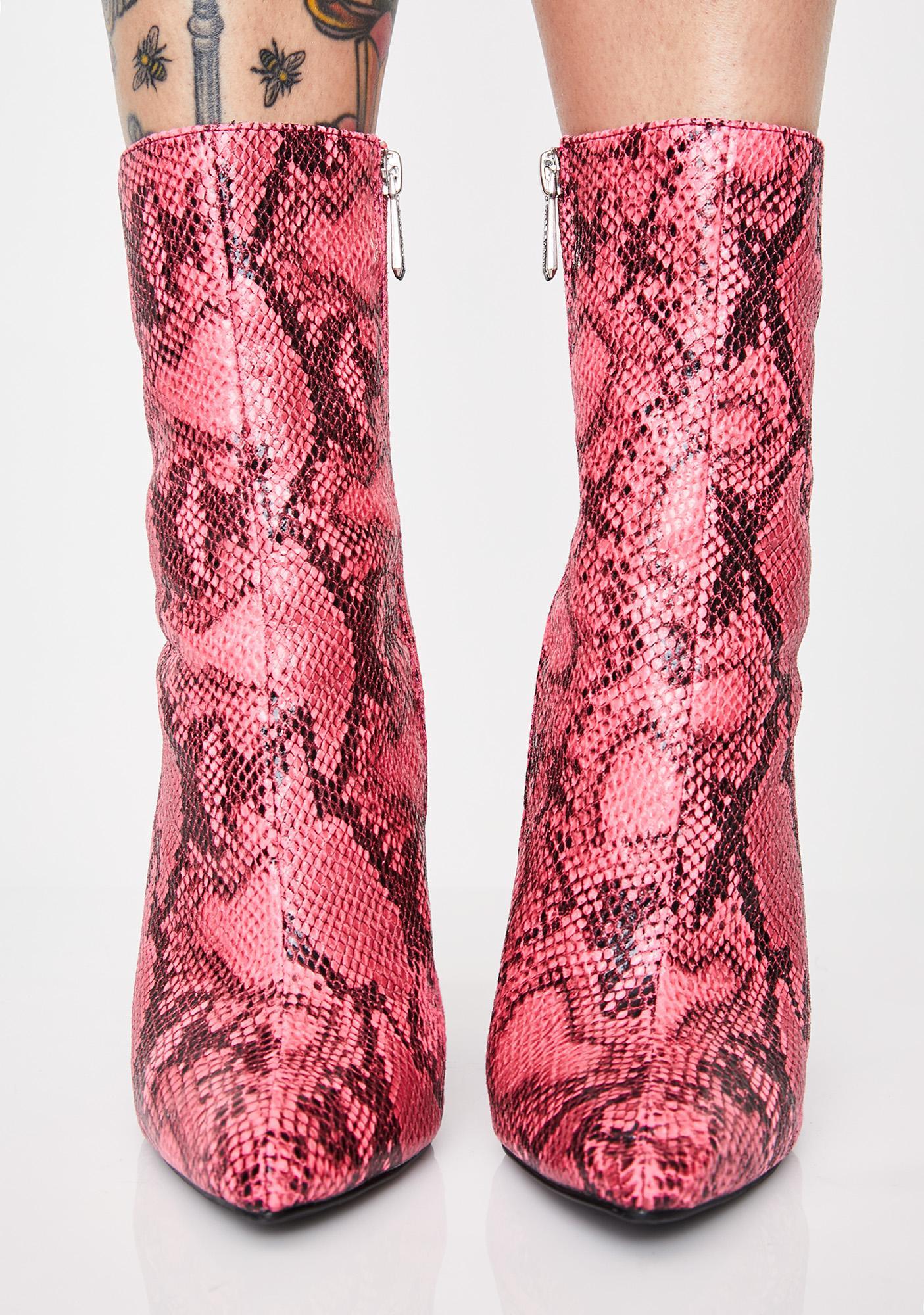Sweet Medusa Slay Ankle Boots
