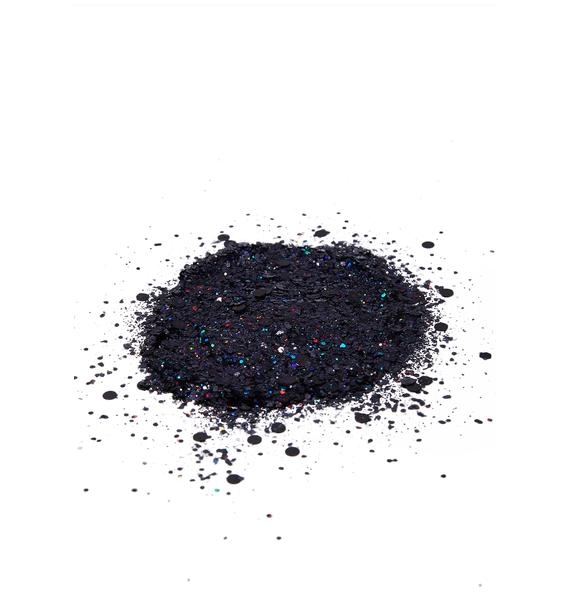 Disco Dust London Black Disco Chunky Glitter Mix