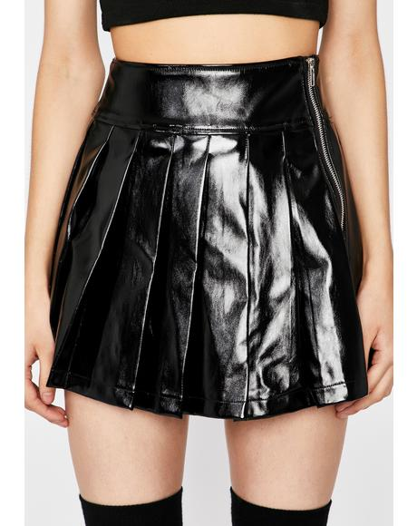 Going Rogue Pleated Skirt