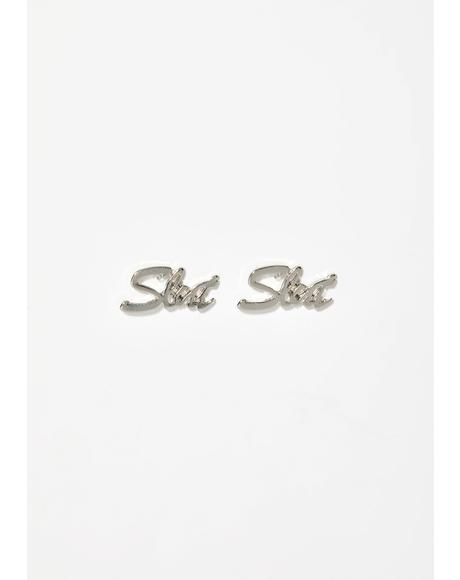 Lil Miss Slut Earrings