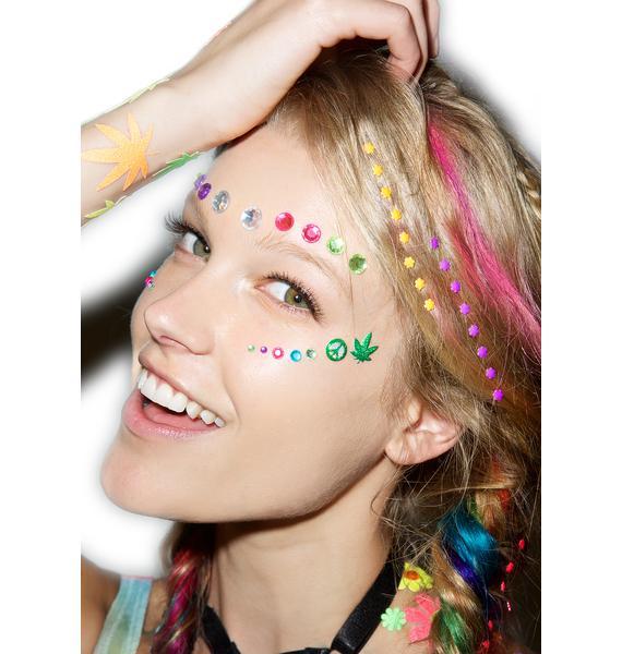 Wicked Hippie Munchies Face Jewelz