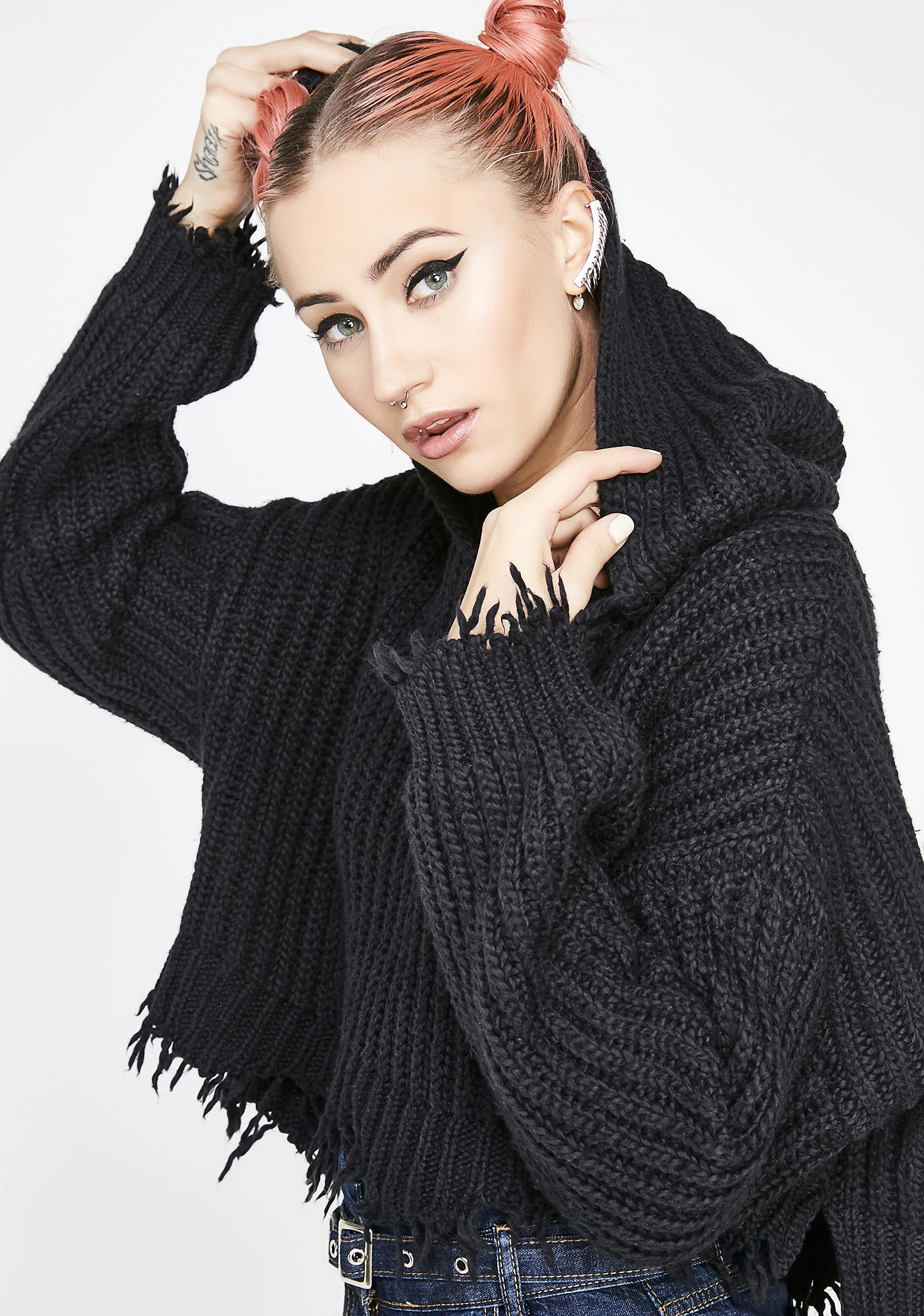 Wildfox Couture Blackout Marley Hoodie