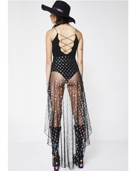 Gypsy Rebel Sheer Dress