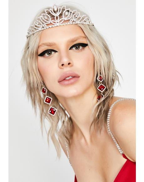 True Heiress Rhinestone Crown