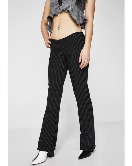 CEO Pinstripe Pants