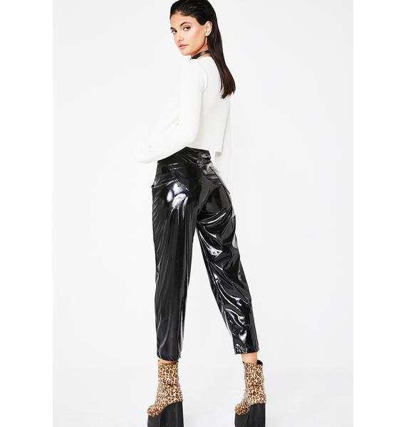 Kiki Riki In The Dark PVC Trousers