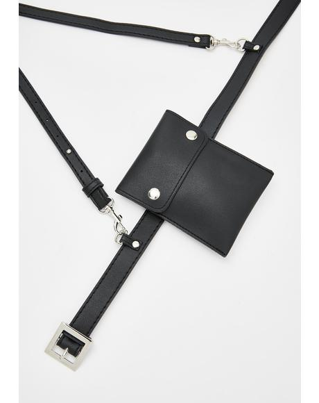 Strapped Up Buckle Belt