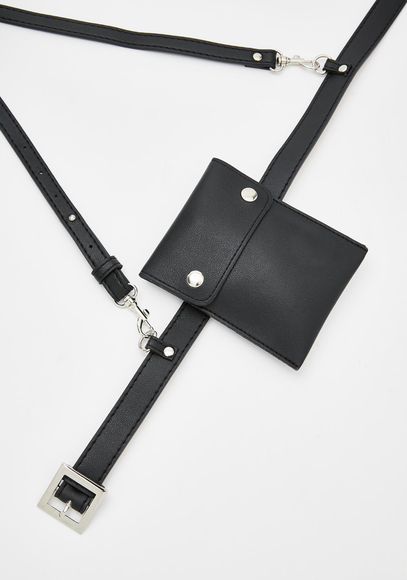 Strapped Up Buckle Belt