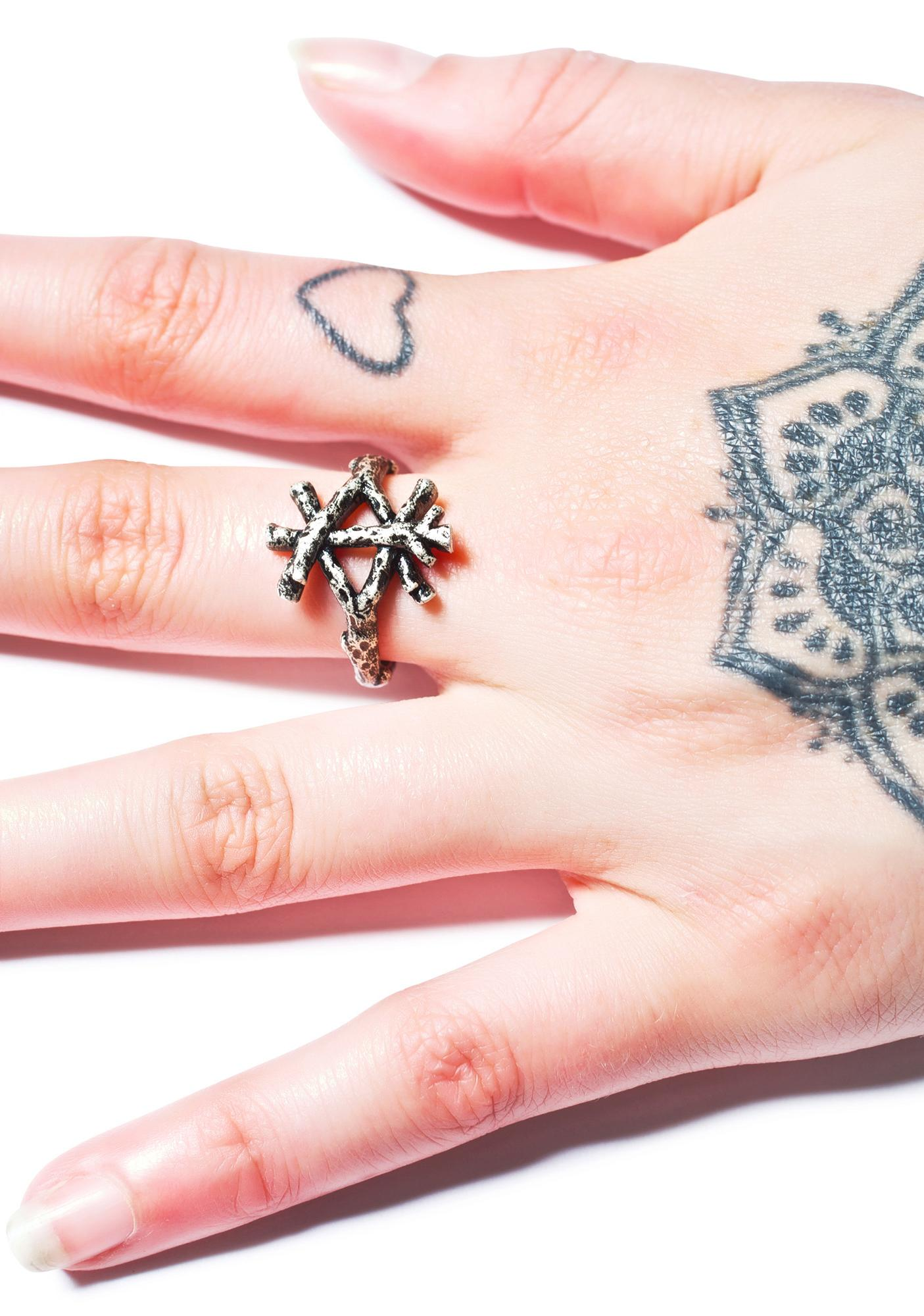 Disturbia Prosperity Rune Ring
