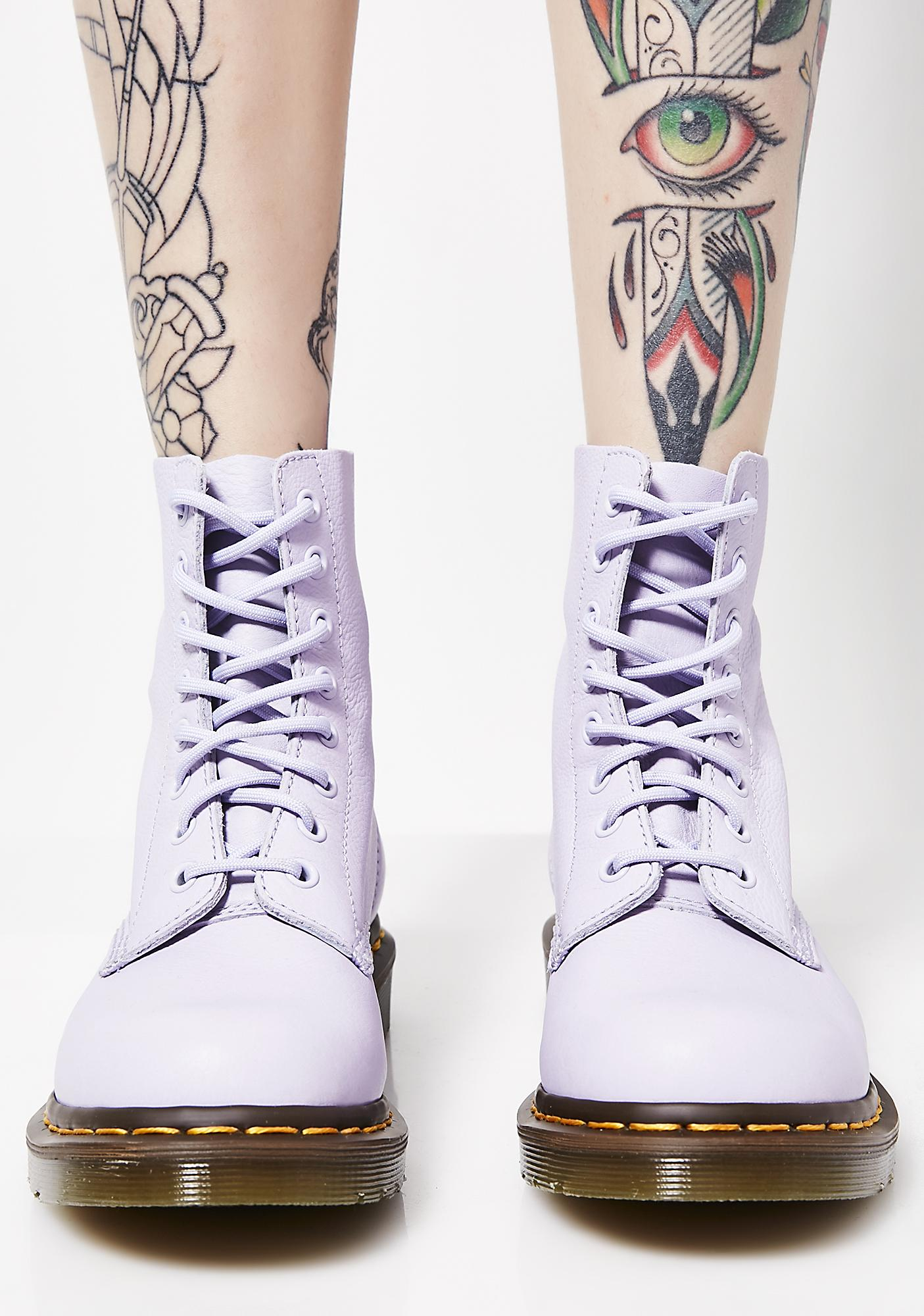 Dr. Martens Purple Heather Pascal Boots