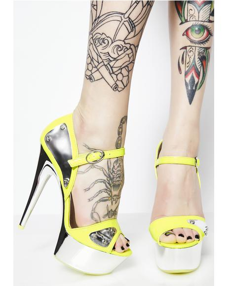All About Me Platform Heels