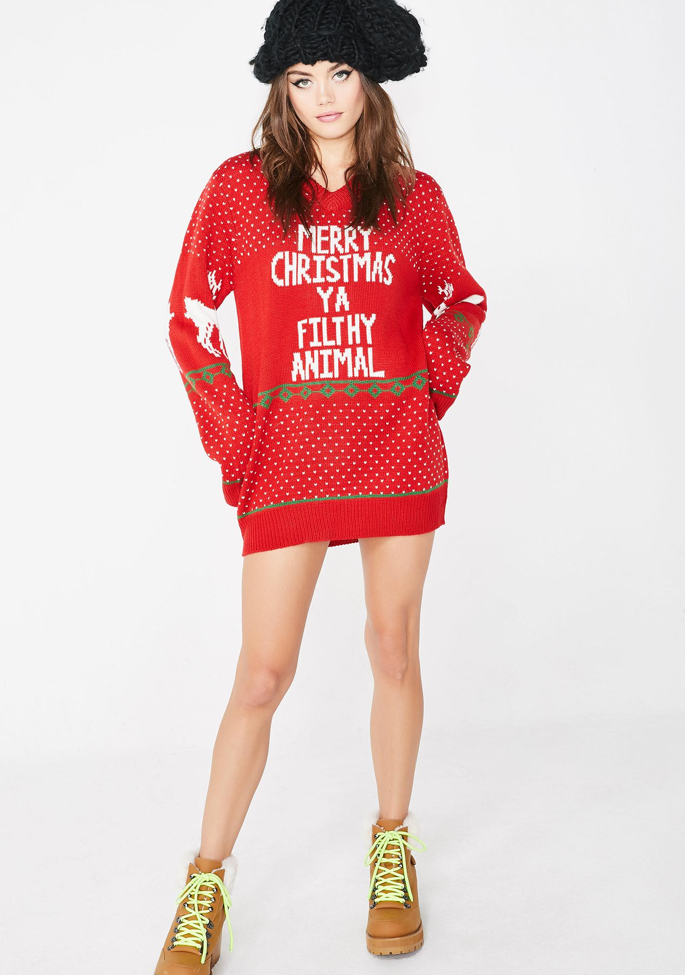 Filthy Souls Holiday Sweater