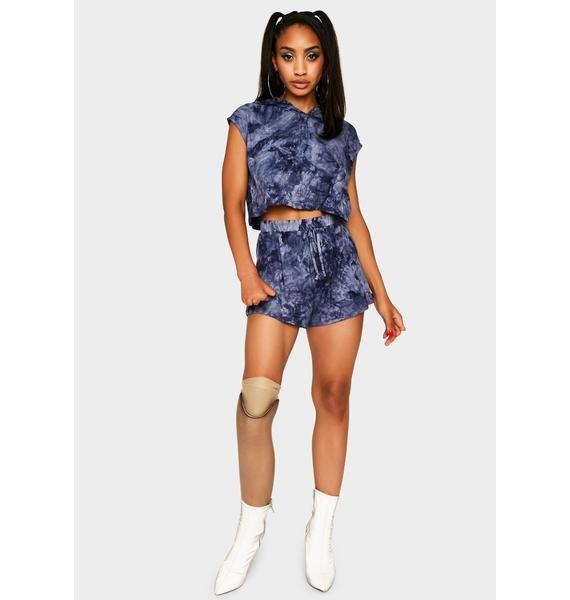 Indigo Mellow Out Tie Dye Set