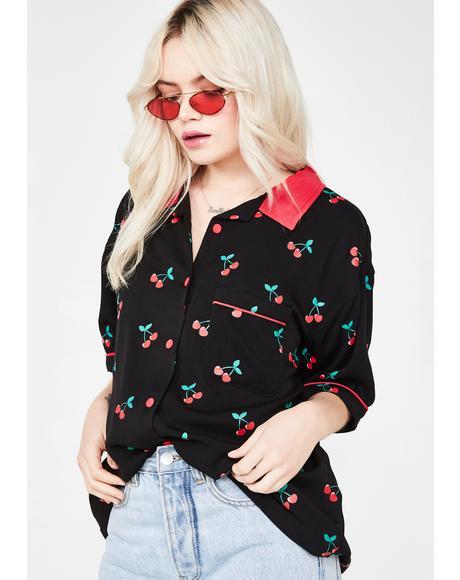 Cherry Bowling Shirt