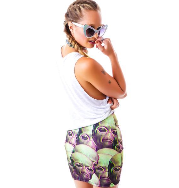 O Mighty Ayy Lmao Skirt