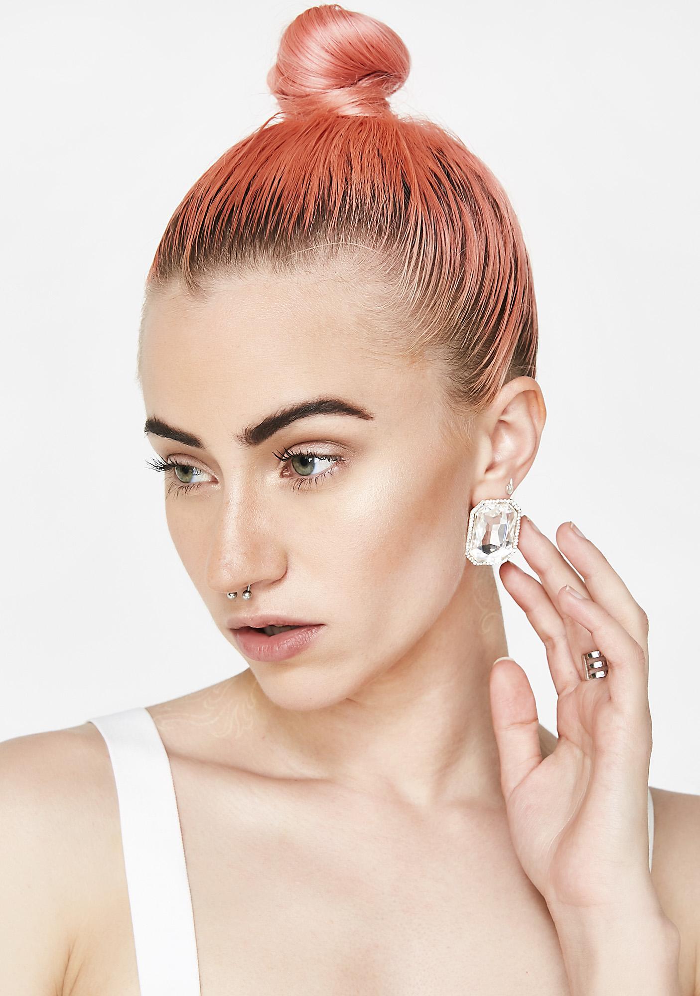 Bling Bling Gem Earrings