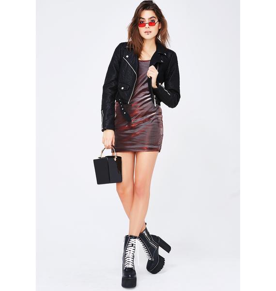 Good Mistakes Mini Dress