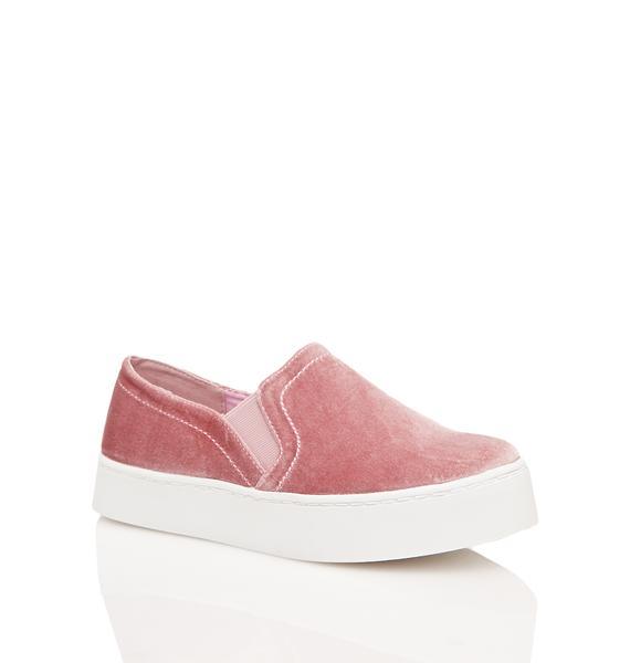 Rebelle Velvet Sneakers