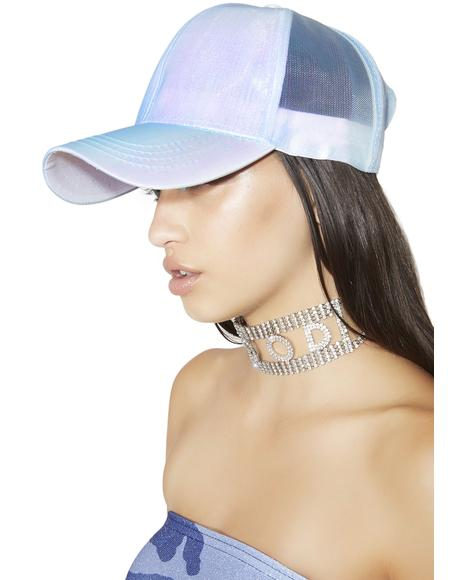 Looking Glass Iridescent Strapback Hat