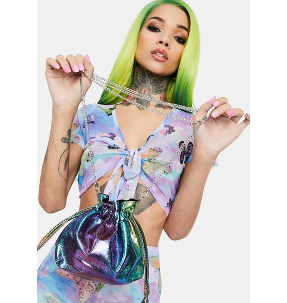 Color Spectrum Bucket Bag