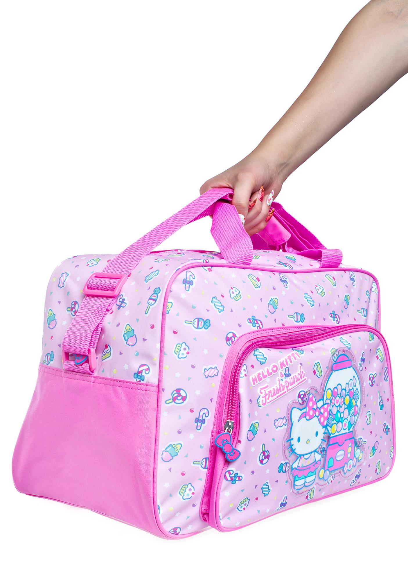 Sanrio Hello Kitty Fresh Punch Overnight Bag