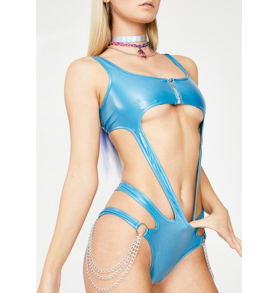 Club Exx Sky Atomic Bliss Cut-Out Bodysuit