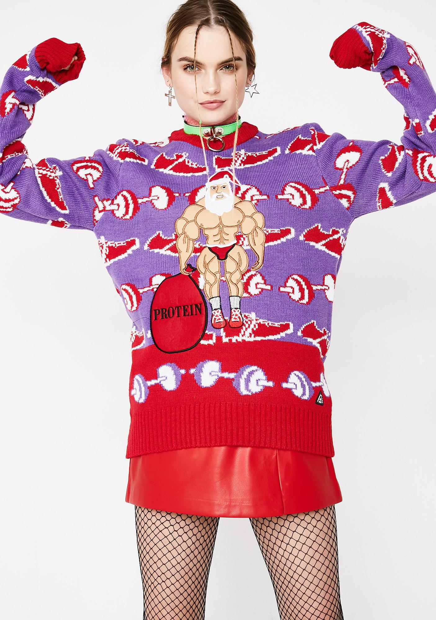 No Pain No Gain Sweater